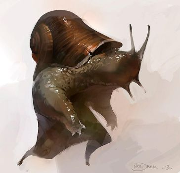 Snailman by Mr--Jack