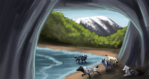 The Cave by xFrostfall