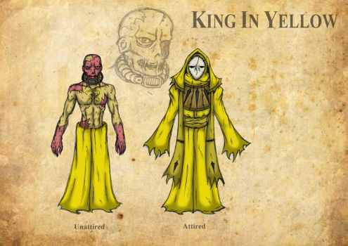01-13-2011 Villain Concept - King In Yellow by A-Lil-RnR