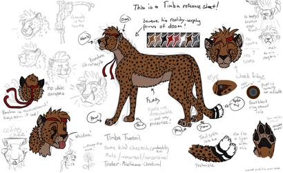 Refsheet: The Terrible Timba Twotail by timba