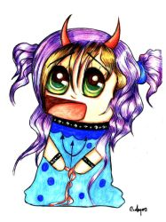 Wemony Chibi Traditional 2 by Addicted2disaster