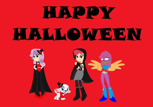 CMCARS Happy Halloween by timelordderpy