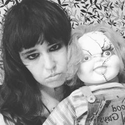 Me And Chucky 31/09/17 by EdenLeeRay
