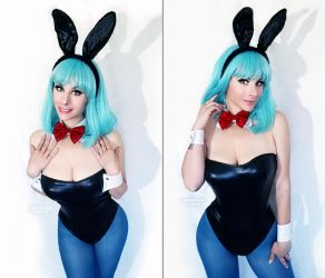 Bulma Bunny  Just Because By Heatheraftercosplay by retroreloads