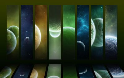 Cosmos collection III - Green by Funerium