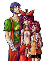 The Trio by x-Hypotermia-x