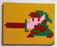 8-bit Link by shocking-silence