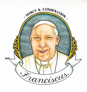FRANCISCUS: Mercy and Compassion. by artistang-kamote12