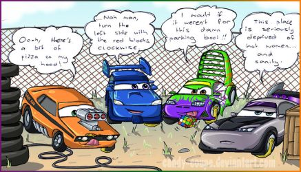 Impound Boredom by Candy-Coupe