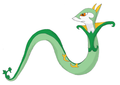 Request: Serperior by FelineFanatic