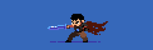 197/365 pixel art : Guts from Berserk by igorsandman