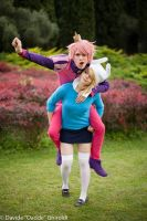 IT'S ADVENTURE TIME! by DakunCosplay