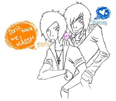 Stagory - Don't Touch Me by Touch-Mah-Keyblade