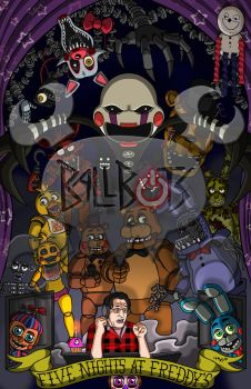 The King of Five Nights at Freddy's (Version 2) by BallBots