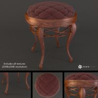 Piano Stool by LuxXeon