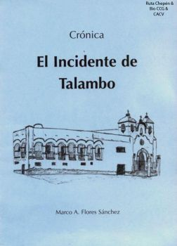 1863 (0) 1863-08-04  Libro El Incidente de Talambo by Chepen-Ruta
