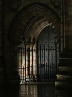 Gate ( nightshot ) by UdoChristmann