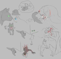 XC Concept Art: Mama Cat by Troodontidae