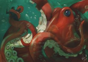 Giant Octopus by zimmark88