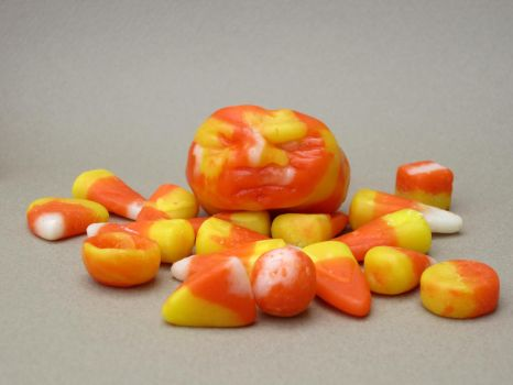 candy corn art by kscreations