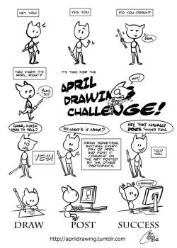 April Drawing Challenge! by Kanthara