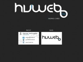 Business cards hvweb.be by w3nky