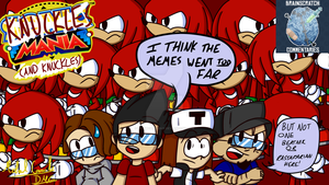 BSC Titlecard - Knuckles Mania (And Knuckles) by DatMichaelGuy