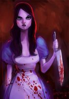 Alice  madness returns by zecarlos
