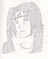 Typography Itachi by neodragon115