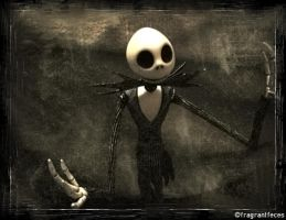 Jack Skellington by fragrantfeces