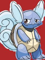 Wartortle by skeletall