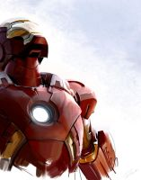 iron man by MaryRiotJane