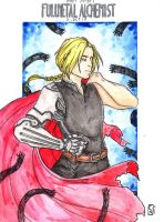 Edward Elric - COMMISSION by Nenril-Tf