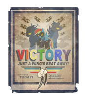 Just a Wing's Beat Away! by RamboDash