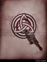 Celtic Crow by MysticMoonMedia