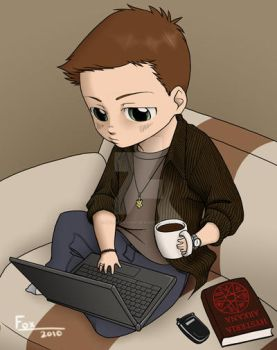 SPN-Chibi research by DeanGrayson