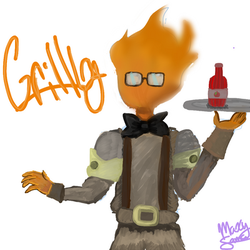 Grillbz by TheMangledPuppet1