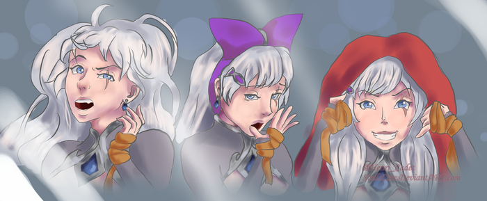 Weiss' Mirror Fun by SoulsCore