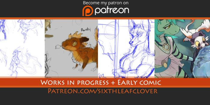 Patreon by The-SixthLeafClover