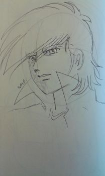 Joe Yabuki sketch by pen by ariesnopatty