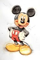 Mickey Mouse by paulchensmom