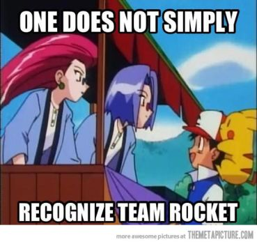 There defenetly NOT team rocket! XD by NoaCoolKid1