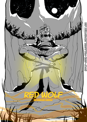 Red Wolf - Intro Page by Apply-Some-Pressure