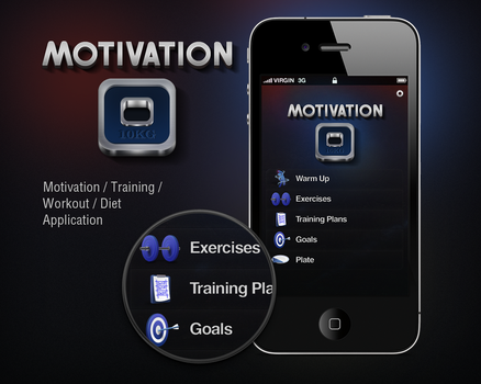 Motivation Application by tonehal