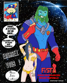 F.I.S.T. (by Chouette-Man) by batblues