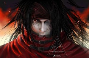VINCENT VALENTINE - FINAL FANTASY VII SQUARE ENIX by Freyjas-Khaleesi