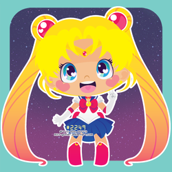 Sailor Moon by Miss-Glitter