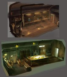 train room by Guang-Yang