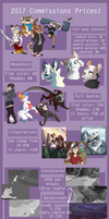 2017 Commission Prices! [Closed!] by Jay-Pines