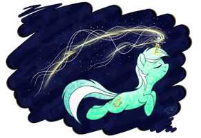 Magical Lyra by RuushiiCZ